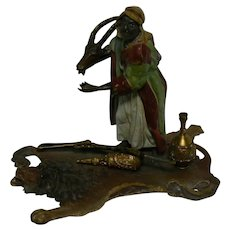 Rare Franz Bergman Bronze Sculpture figurine OLD Bronze