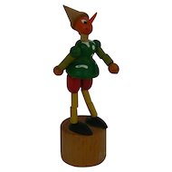 Vintage OLD wood Pinocchio Jointed doll toy