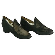 Vintage American Rubber Company rubber doll shoes.