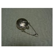 Vintage silver doll purse Old must see