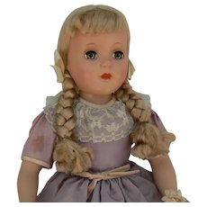 Early Sweet Sue All hard plastic and all original with Silk Floss hair, near mint.