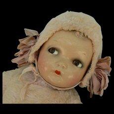 Rare Ideal Doll PINK Stuffed body Princess Beatrix head