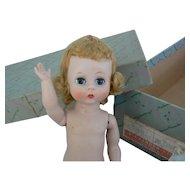 Vintage 60's BKW Alexanderkins Doll # 300 with Original box needs help.