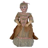 24 inch Simon Halbig 1079 Dep bisque head doll all original and very nice.