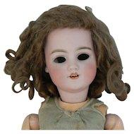 Simon Halbig # 1249 Dep Santa bisque head doll 17 inches tall, TLC or parts.