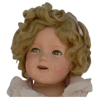 25 inch Ideal Shirley Temple doll all original