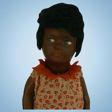 Cute Little German Black doll and all Original.