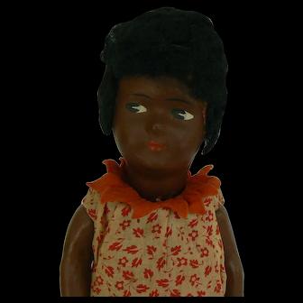 Cute Little German Black doll and all Original.