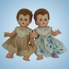 Vintage 50's Ideal Betsy Wetsy Doll TWINS tlc.
