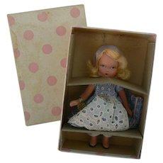 Nancy Ann Storybook Doll Alice Thru the Looking Glass # 119