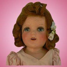 Vintage Composition Ideal Doll all original Parts or restore.