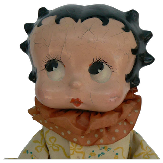 vintage 1930's Betty Boop Bed Doll