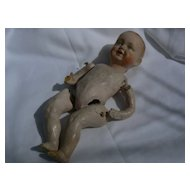 Very OLD Composition Papier mache type Baby doll