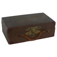 Vintage Doll suitcase or travel case great for a doll.