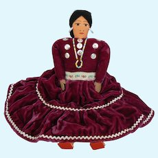 Vintage Navajo Indian Doll
