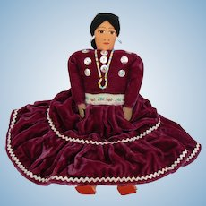 Vintage Navajo Indian Doll