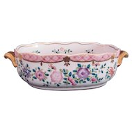 ISCO Japan Oval Bowl Dish Centerpiece or Vanity