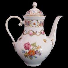 RARE Schumann Coffee Pot SCH2 c.1960-1970 Dresden Flowers - Red Tag Sale Item