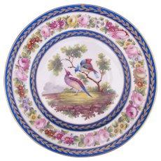 Sevres Plate Charger Bleu Blue Lapis
