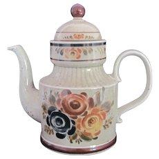 OSTO 1851 Coffee Tea Pot Germany Rustic Tones