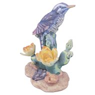 Cactus Wren Bird Figurine Sculpture Andrea by Sadek