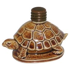Vintage Art Deco Schafer & Vater Turtle German Figural Perfume Bottle