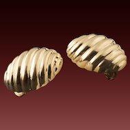 Vintage 12 Karat Gold Earrings