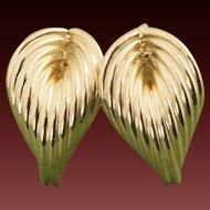 Vintage 14 Karat Gold Earrings
