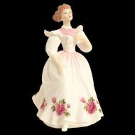 Royal Doulton HN 2695 Figure of the Month November by Peggy Davies 1987