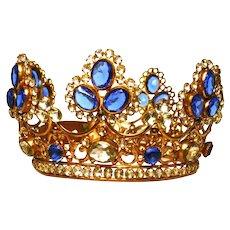 Magnificent LARGE Antique Nineteenth Century Santos Couronne/Crown Royale
