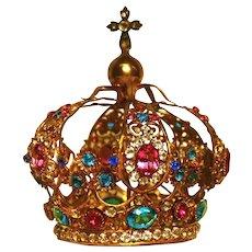 Antique Napoleon III Small Santos Couronne/Crown Royale