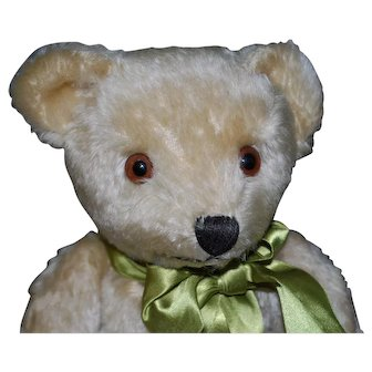 """14"""" German Cramer Teddy Bear With very Handsome Face"""