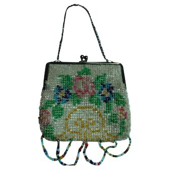 Beaded Doll Purse Your Doll Will Love