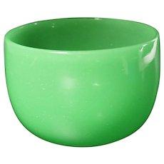 Carder Era Steuben Green Jade Bowl