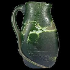 Legras Art Nouveau Four Color Cameo Glass Ewer