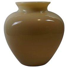 Carder era Steuben Ivory GLASS Vase, Classic Shape No. 2683