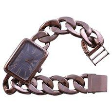 925 Silver Retro Wrist Watch