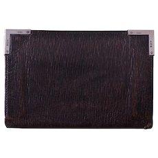 Leather And Silver Edwardian ''Asprey'' Wallet