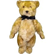 Vintage 1950 Chiltern Hugmee Bear Mohair 21 Inches Tall
