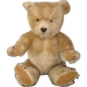 Vintage 1960 Chiltern Hugmee Mohair Bear 17 Inches