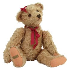 Vintage Artist Bear Mohair Handmade Teddy Heidi
