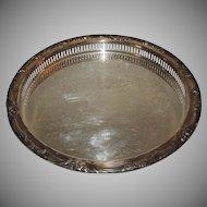 Vintage Watson Silver Serving Tea Tray Platter