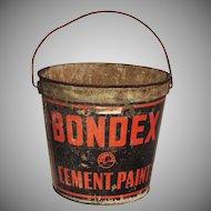 Industrial Bondex Cement Paint Galvanized Metal Bucket