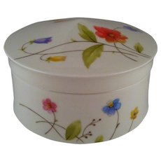 Mikasa Just Flowers Sugar Bowl with Lid