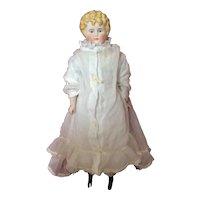 Antique Parian Doll 15.3/8 inches tall.