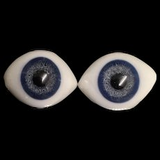 Antique Paperweight glass eyes.