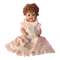 Heubach Doll 342 painted bisque doll 14 inches tall