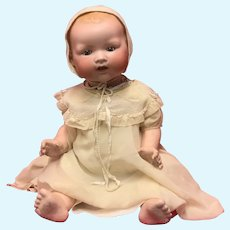 Large AM  351 infant doll. 23.1/2 inches tall.