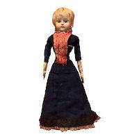 Antique Papermache Fashion doll