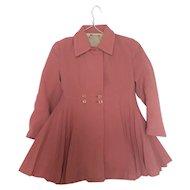 Minimode tailor made! Child's coat 1950's 60's